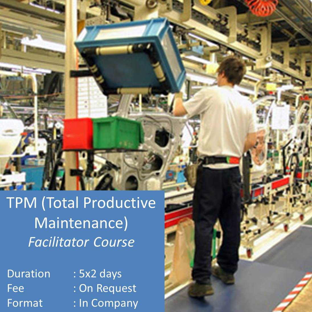 TPM Total Productive Maintenance Facilitator Training