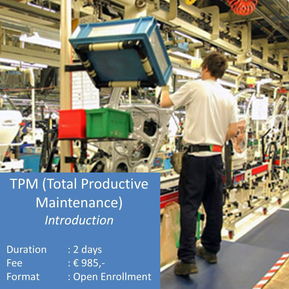 TPM Total Productive Maintenance Introduction Course